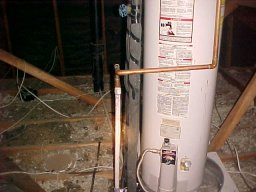 Attic Waterheater